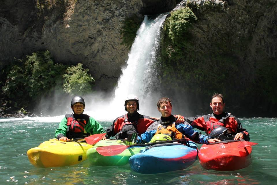 Kayak voyage amis Chili