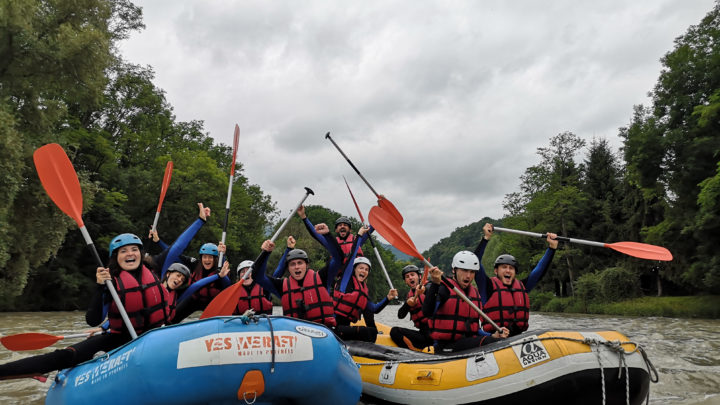 Rafting Pyrénées Amis