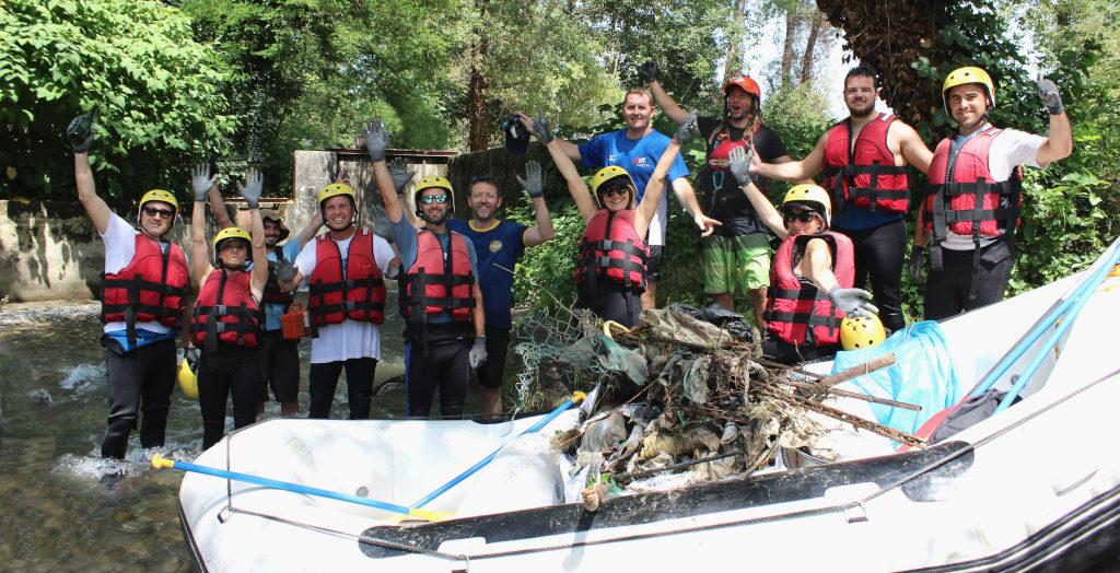 Team Building Pyrénées rafting Développement durable