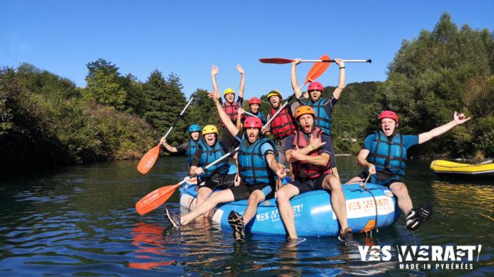 Team Building Rafting Pyrénées