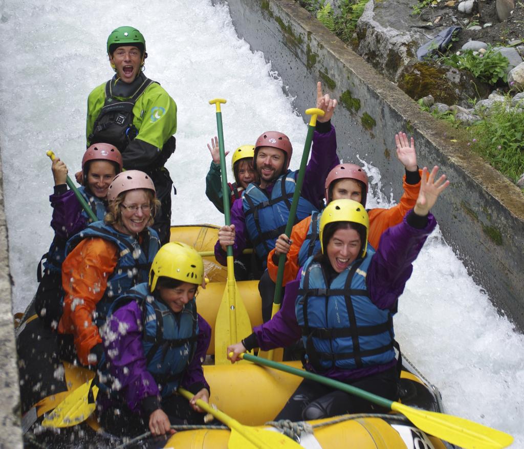 Rafting Pyrénées Fun Pau