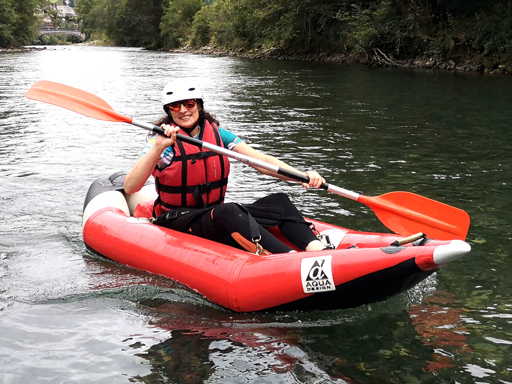 Descente du gave de Pau en kayak rafting