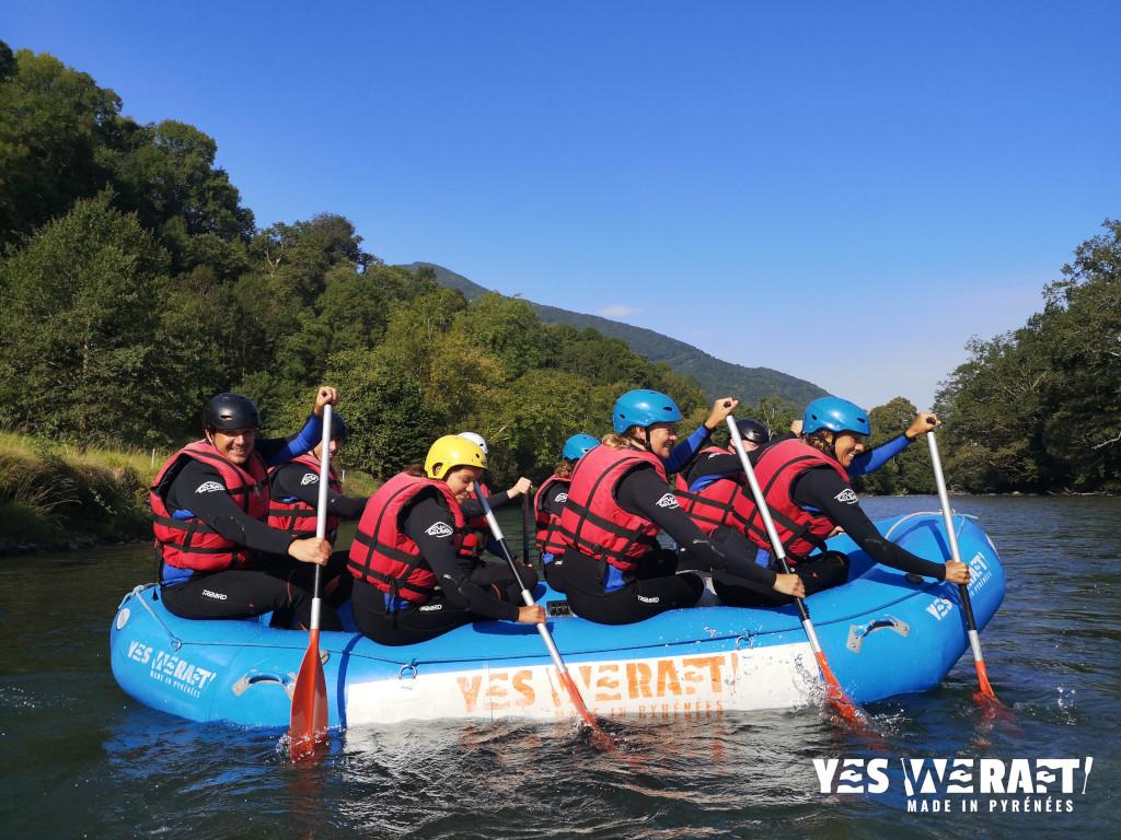 rafting Pyrénées gave de Pau