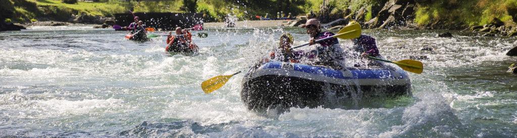 Rafting Pyrénées vague